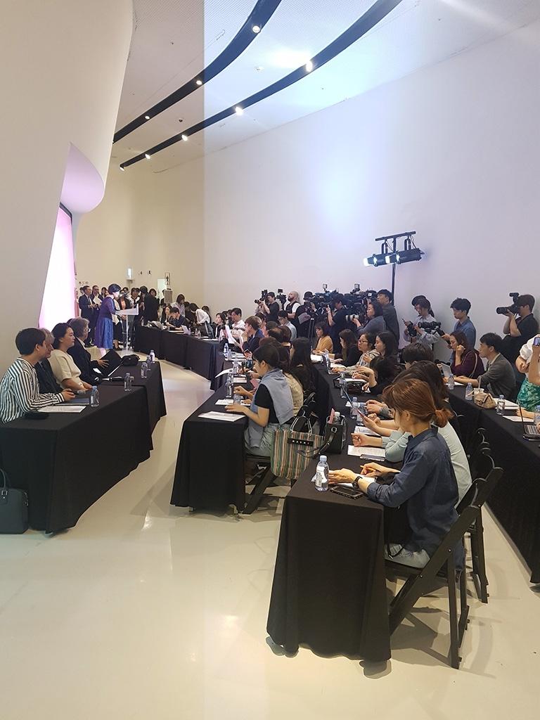 Press conference, Paul Smith Exhibition, Dongdaemun Design Plaza, Seoul  - Westhoff Fine Arts